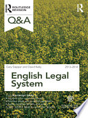 Q A English Legal System 2013 2014