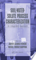Soil Water Solute Process Characterization