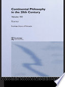 Routledge History of Philosophy Volume VIII