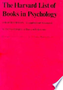 The Harvard List of Books in Psychology