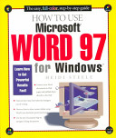 How to Use Microsoft Word 97 for Windows