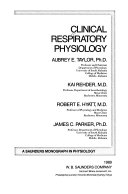 Clinical respiratory physiology