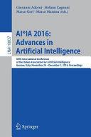 Ai Ia 2016 Advances In Artificial Intelligence