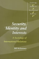 Security, Identity and Interests
