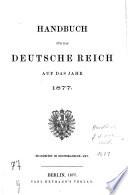 Handbuch für das Deutsche Reich