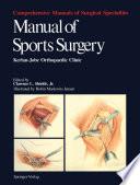 Manual of Sports Surgery