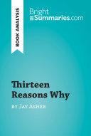 Thirteen Reasons Why Pdf/ePub eBook