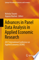 Advances in Panel Data Analysis in Applied Economic Research