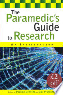 The Paramedic S Guide To Research An Introduction