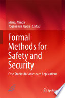 Formal Methods For Safety And Security