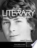 Skills for Literary Analysis (Teacher)