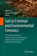Soil in Criminal and Environmental Forensics