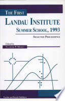 The First Landau Institute Summer School  1993
