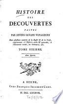Histoire des d  couvertes faites par divers savans voyageurs dans plusieurs contr  es de la Russie et de la Perse