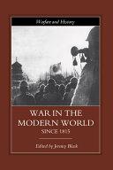 download ebook war in the modern world since 1815 pdf epub
