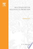 Multiparameter eigenvalue problems