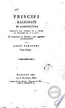 Principj ragionati di agricoltura tradotti dal tedesco di A  Thaer in francese da E V  Crud  E trasportati in italiano  con aggiunta di annotazioni da Luigi Targioni Tomo primo   14