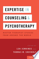 Expertise In Counseling And Psychotherapy