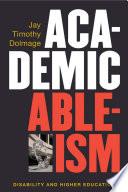 Academic Ableism Book PDF
