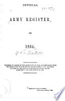 Official Army Register for ...