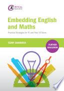 Embedding English and Maths