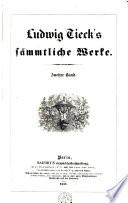 S  mmtliche Werke Tieck  Ludwig