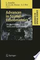 Advances in Spatial Econometrics