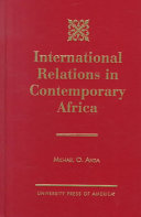 International Relations in Contemporary Africa