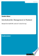 Interkulturelles Management in Thailand