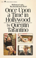 Once Upon a Time in Hollywood Book