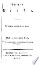 Goethe's werke