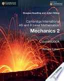 Cambridge International AS and A Level Mathematics  Mechanics 2 Coursebook