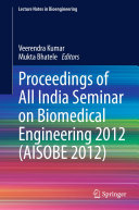 download ebook proceedings of all india seminar on biomedical engineering 2012 (aisobe 2012) pdf epub