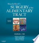 Shackelford S Surgery Of The Alimentary Tract E Book
