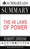 Book Summary of The 48 Laws of Power by Robert Greene