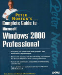 Peter Norton's Complete Guide to Windows 2000 Professional