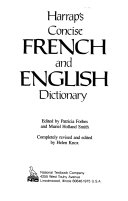 Harrap s Concise French and English Dictionary