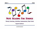 Note Reading for Strings  Book 1  Violin
