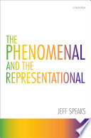 The Phenomenal And The Representational book