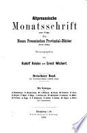 Altpreussische Bibliographie