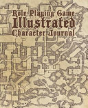 Role Playing Game Illustrated Character Journal