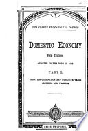 Domestic economy  adapted to the Code of 1880  signed I S B    Book PDF