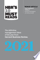 HBR s 10 Must Reads 2021 Book PDF