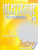 Interchange Intro 3rd Ed Student s Book with Audio CD