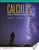 Calculus Early Transcendentals  11th Edition