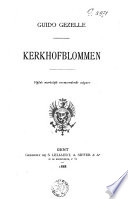 Kerkhofblommen