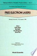 Free Electron Lasers