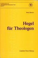 Hegel für Theologen