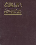 Webster s New World College Dictionary
