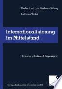 Internationalisierung im Mittelstand
